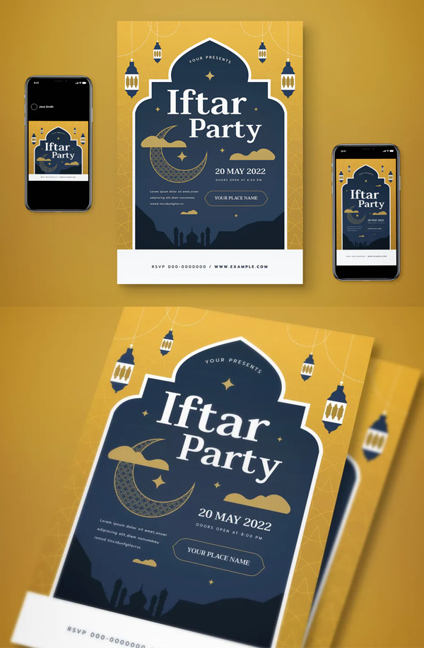 Creative Iftar Party Flyer