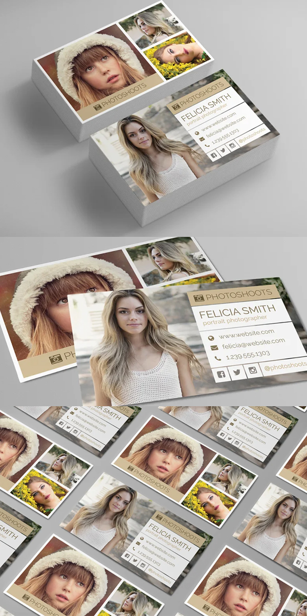 Perfect Photographer Business Card Template