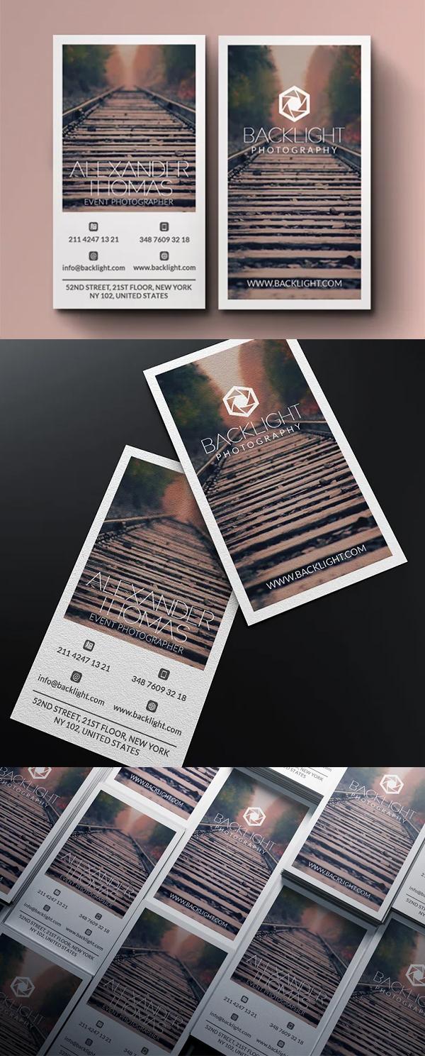 New Photographer Business Card