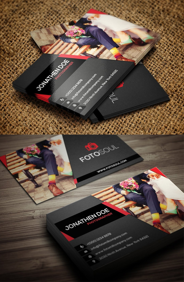 Awesome Best Photography Business Card