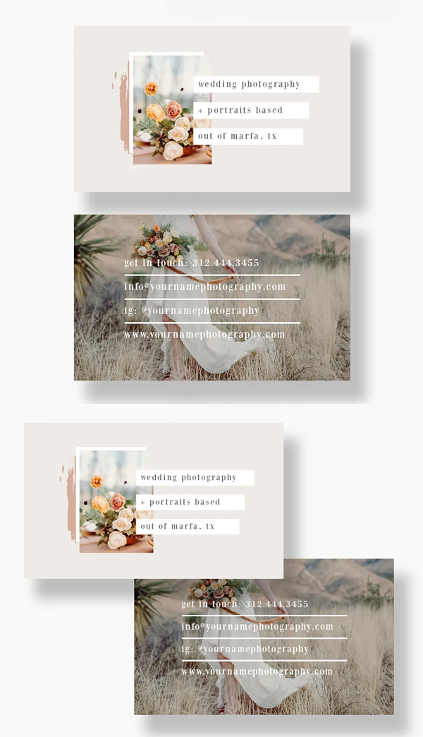 Awesome Photographer Business Card Template