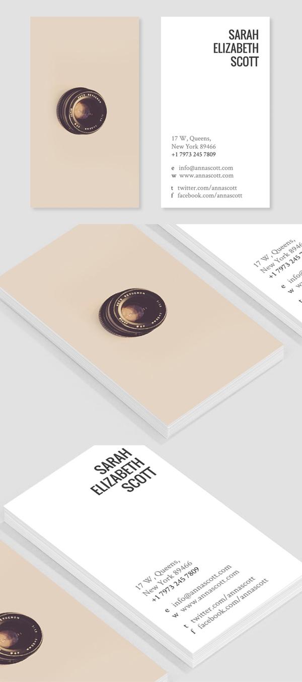 Snap Joy Business Card Template