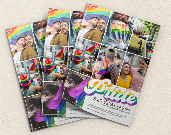 How to Make a Pride Flyer Template