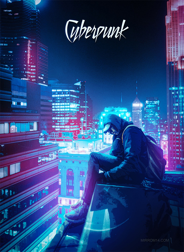 Create an Anime Effect With Cyberpunk Color in Photoshop