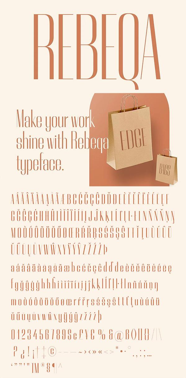 Rebeqa Free Font
