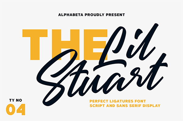 Awesome Script Free Font