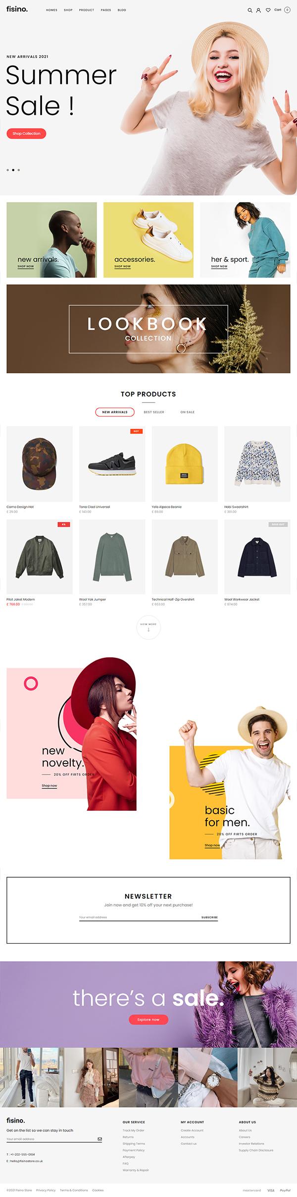 Fisino - Fashion WooCommerce WordPress Theme