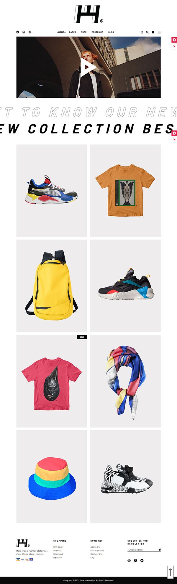 Haaken - Fashion Store Theme