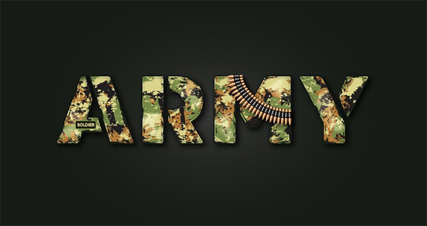 How to Create a Military Stencil Text Effect in Illustrator