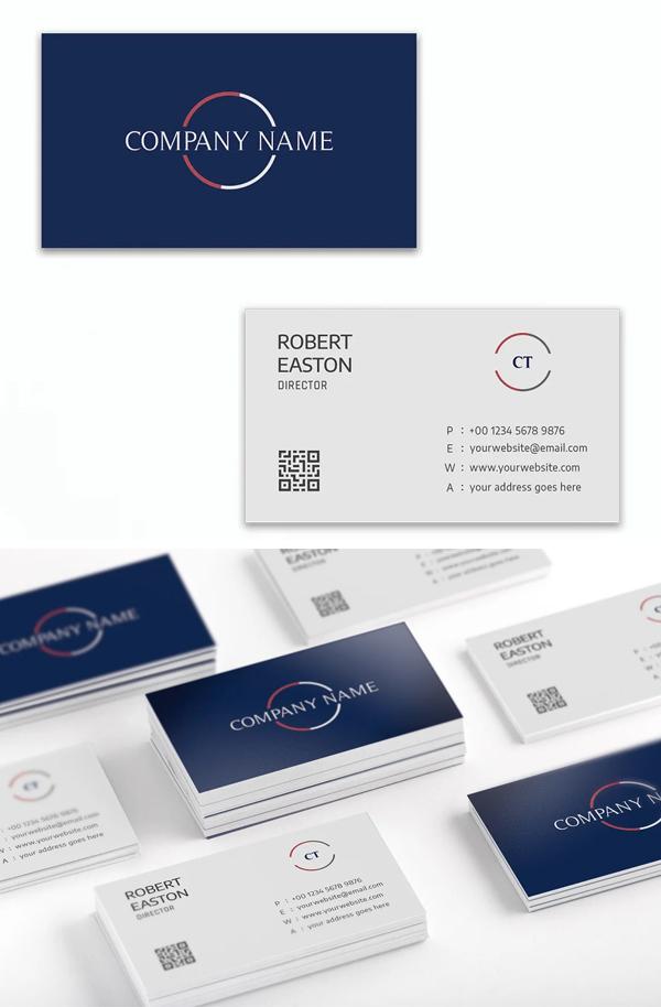 Modern Elegant Business Card Template