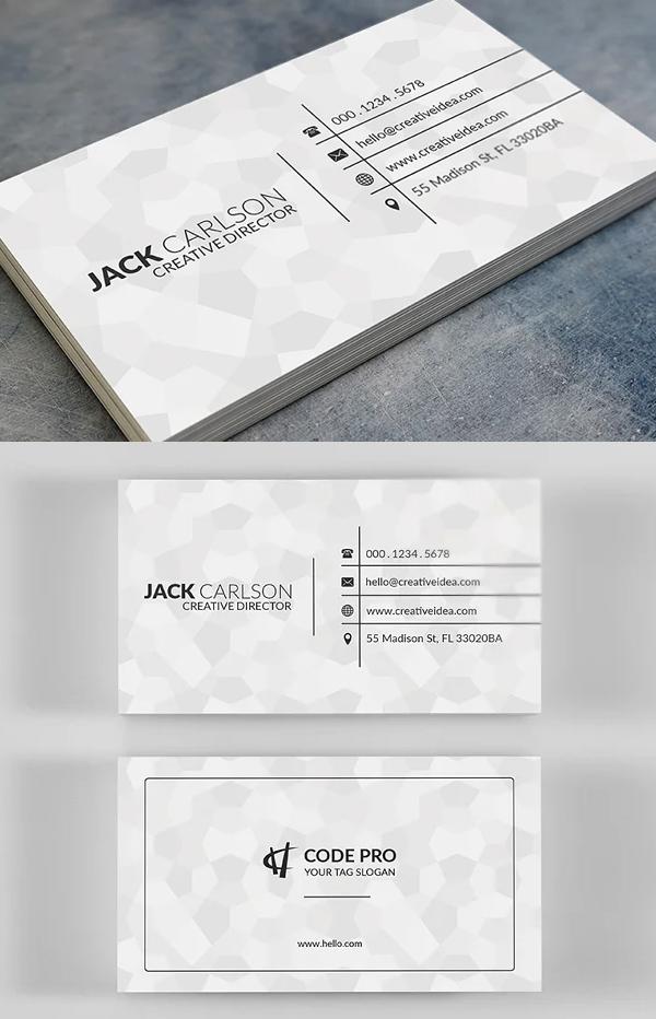 Tiles Business Card Template