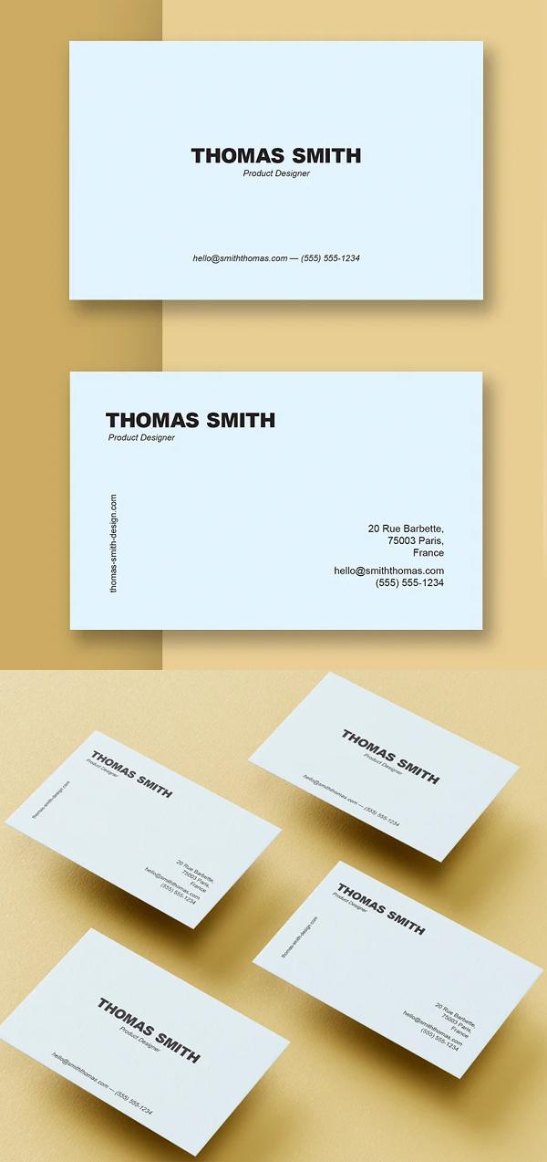 Thomas Business Card Templates