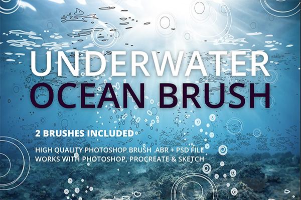 Underwater Ocean Brush
