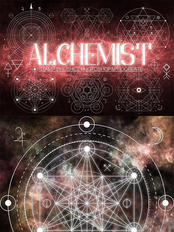 Alchemist Stamp Brushes