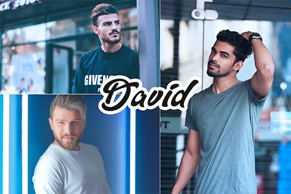 David Photoshop Action