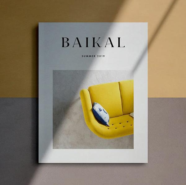 Fashion Magazine Cover Mockup