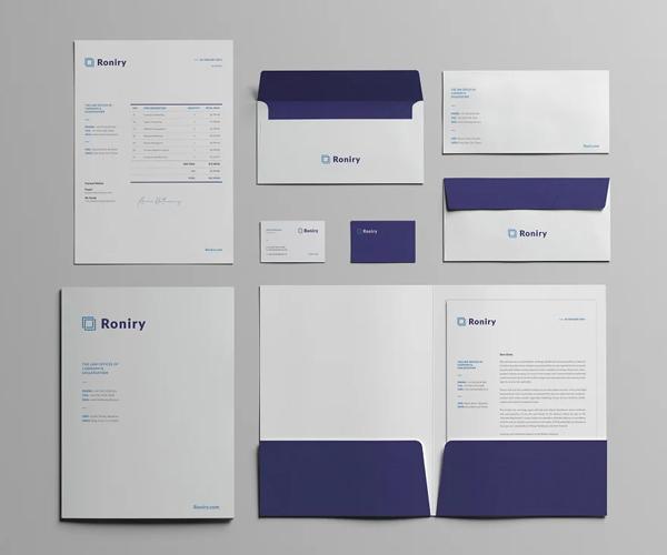 Attractive Branding Stationery