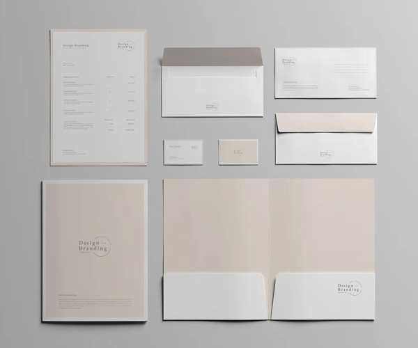 Awesome Branding Stationery