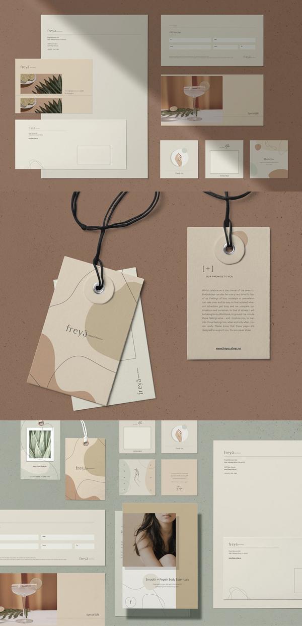Elegant Brand Stationery
