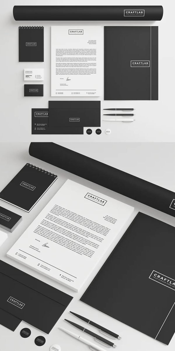 Creative Corporate Stationery