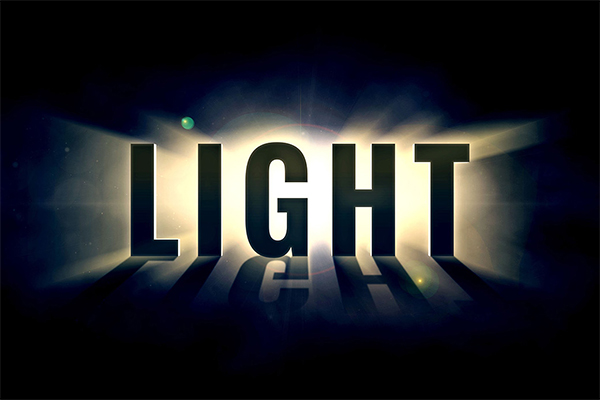 Awesome Light Text Effect