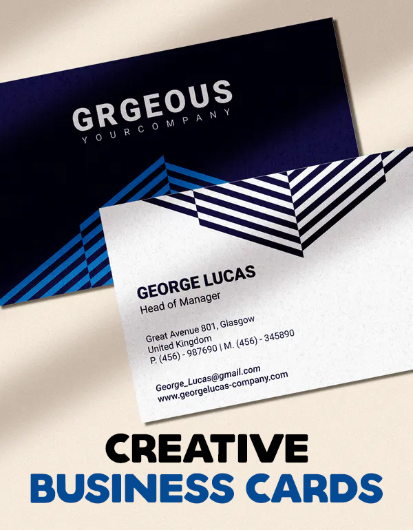 Creative Business Cards Templates